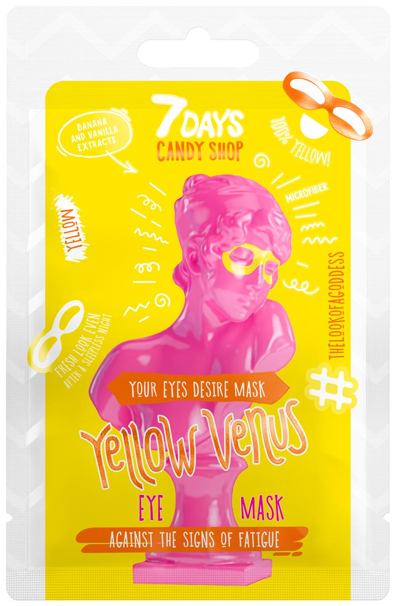Eye Sheet Mask YELLOW VENUS 10g