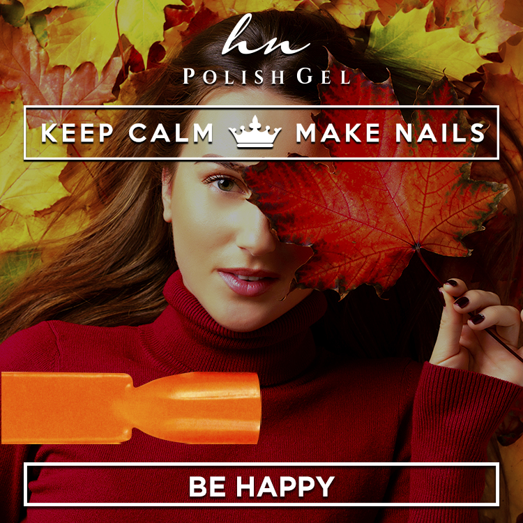 Gel Polish Keep Calm & Be Happy