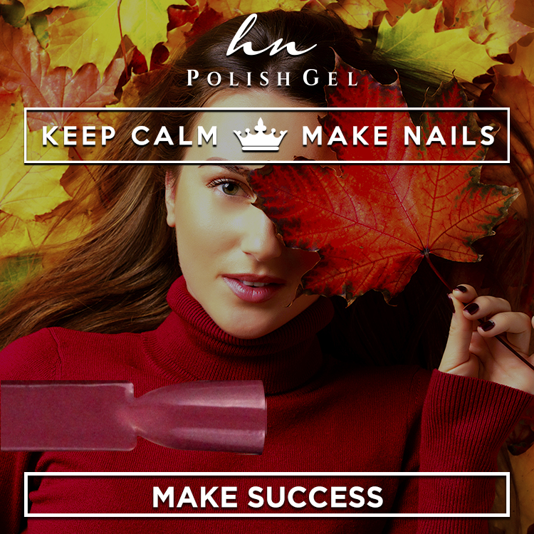 Gel Polish Keep Calm & Make Success
