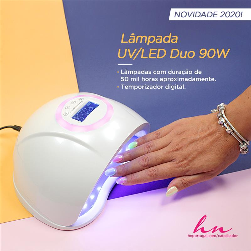 Lâmpada UV/LED