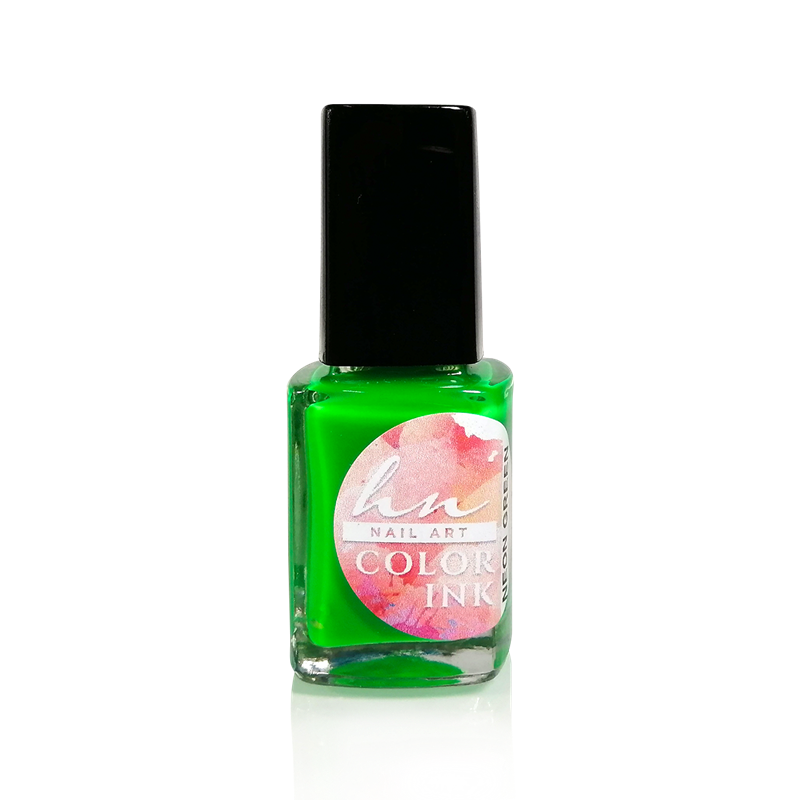 Nail Art Color Ink - Neon Green