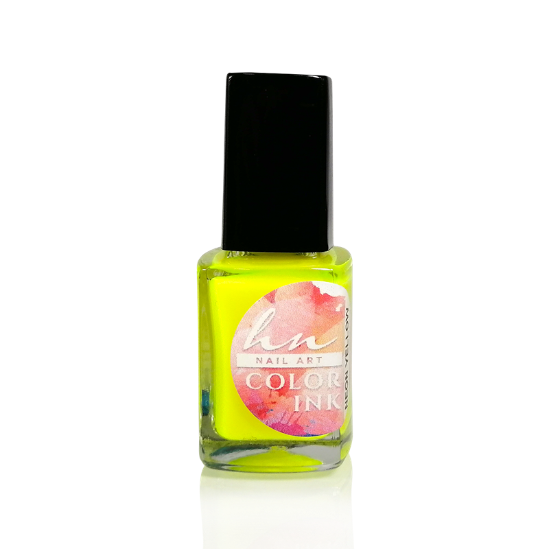 Nail Art Color Ink - Neon Yellow